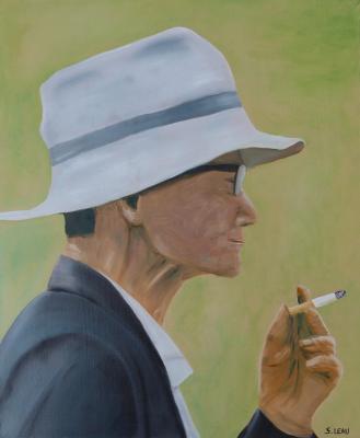 Ca fume aussi...sous le chapeau! - S.Léau